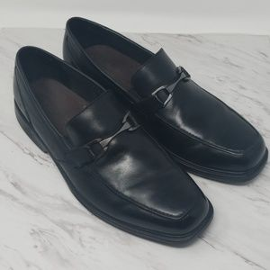 Bostonian Mens Laureate Slip-on Loafer Black 13